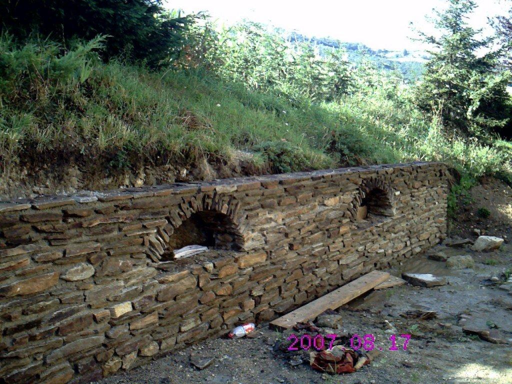 Mur en pierre de